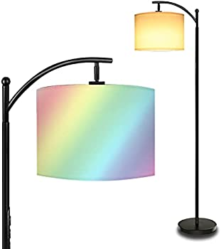 AnTing Touch-Control RGB Color Changing Dimmable LED Floor Lamp