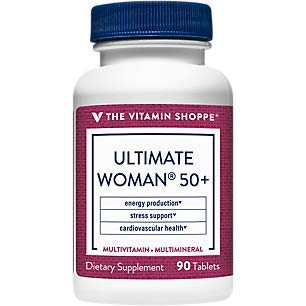 Ultimate Woman 50+ Multivitamin (90 Tablets) by The Vitamin Shoppe