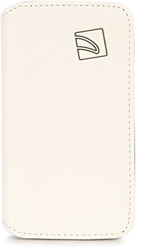 Tucano Libro Booklet Cover Weiß für Samsung Galaxy S4