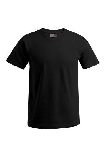 E3000-3er Pack Herren Premium T-Shirt T-Shirts Rundhals in Gr. 3XL, 4XL oder 5XL (fällt groß aus), Farbe:Black;Herrengrößen:3XL