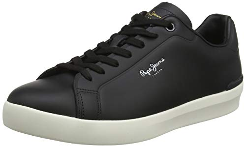 Pepe Jeans London Roland Engineered, Zapatillas para Hombre, Black 999, 42 EU