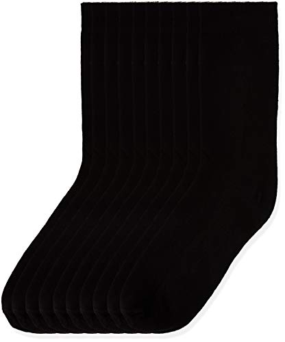 Marca Amazon - find. Calcetines Mujer, Negro (Black), 36-38 EU, Label: 3-5 UK