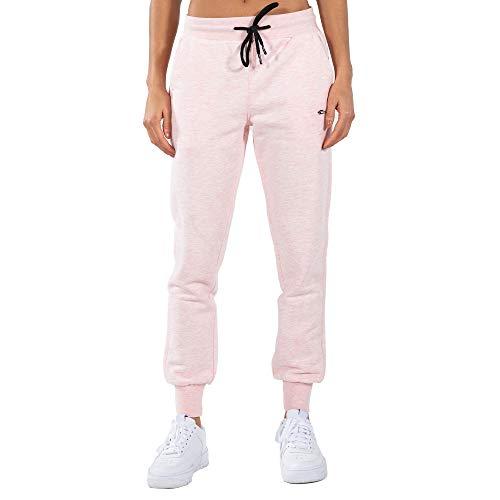 SMILODOX Damen Jogginghose Beverlie - Lange Hose im Regular fit mit mid Waist Bund und Tunnelzug, Größe:S, Color:Hell Rosa