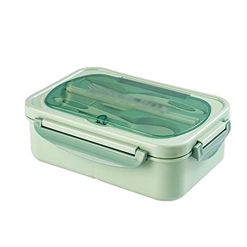 Contenitore Per Il Pranzo Isolato Portatile, Contenitore Per Il Pranzo In Acciaio Inossidabile 304 Riscaldato A Microonde Verde Menta