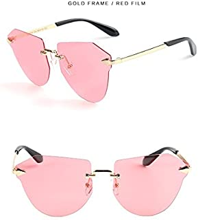 GR Child Sunglasses Fashion Children Polaroid Sunglasses Boys Girls Kids Baby Goggles UV400 Mirror Borderless Arrow Cat Eye Polarized Sunglasses (Color : Pink)