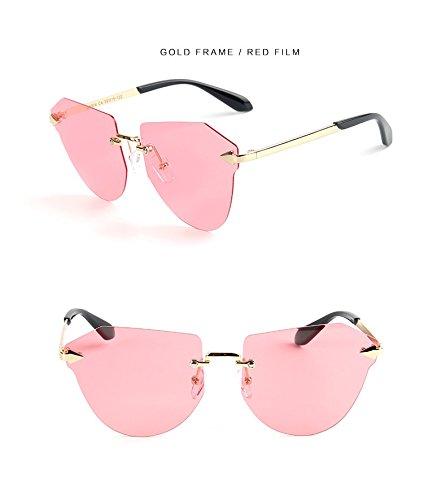 Sole zonnebril voor kinderen zonder randen, gepolariseerde zonnebril voor kinderen, polaroïde zonnebril voor jongens, jongens en meisjes, UV400 bril