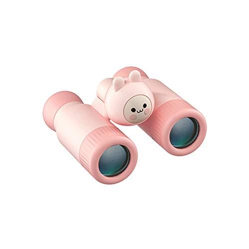 Henreal Abnehmbares Fernglas mit niedlichem Cartoon-Lupe, Spielzeug für Kinder