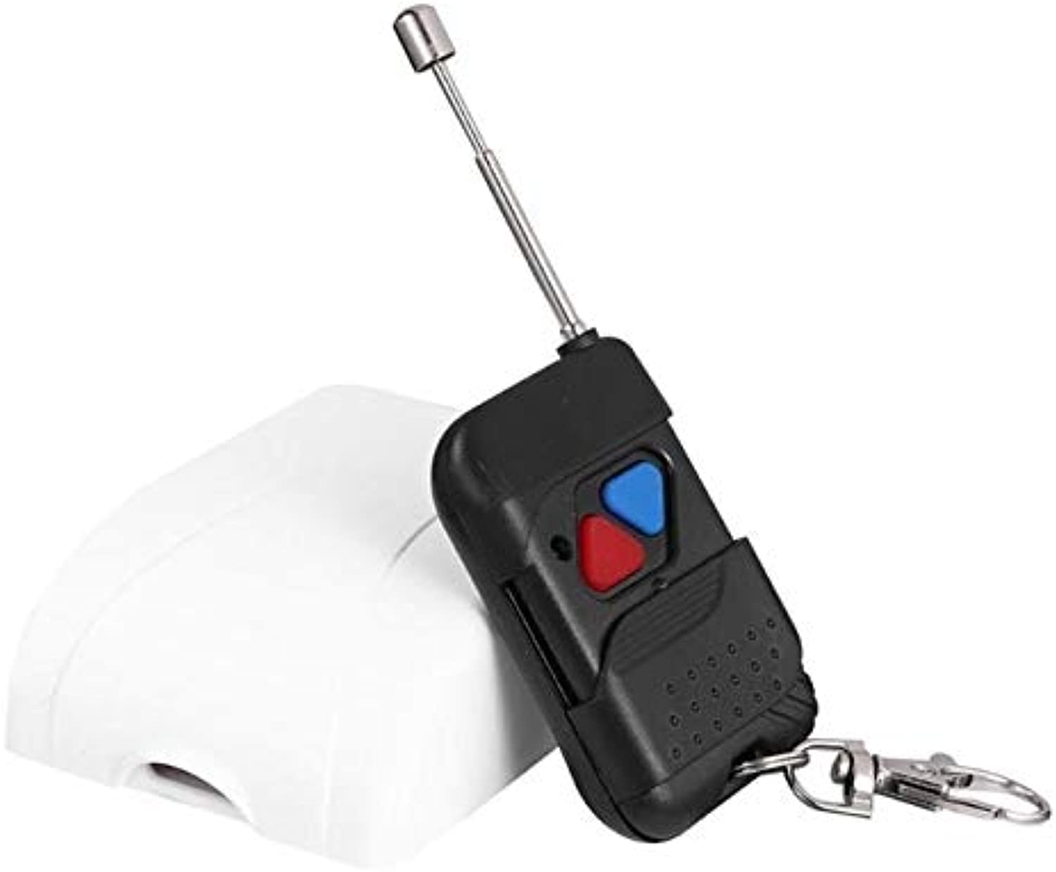 Wireless Switch Control Switch ON Off 433MHz DC12V48V 2 Way Wireless Remote Control Switch Intelligent Receiver Transmitter  (color  White Red blueee)