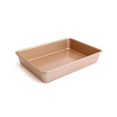 Plaque de cuisson pour four de cuisson au four pour four profond rectangulaire rectangulaire de 13 pouces (Color : A)