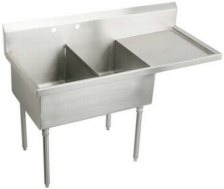 Discover Bargain Elkay WNSF8236OF4 Commercial Sink Lustrous Satin Finish