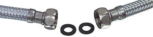 FIXA PART W9 20110 Wasmachine Accessoires/Waterslang/Inlaatslang voor Wasmachines, 1/2 Rechte 3/4 Rechte Aansluiting 1,5 m