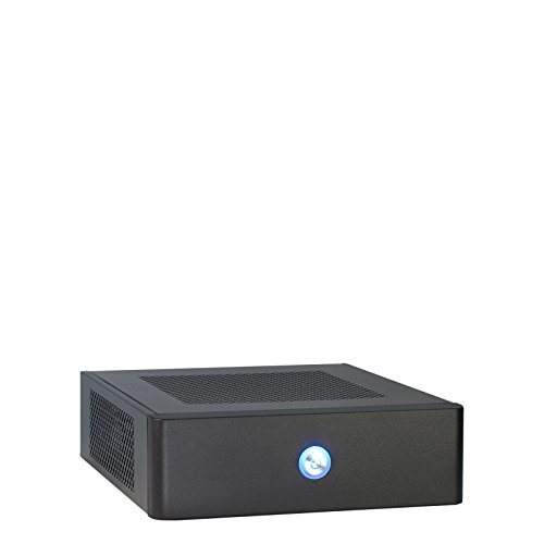 Inter Tech 88881217 Case ITX 601 ITX Black 60W
