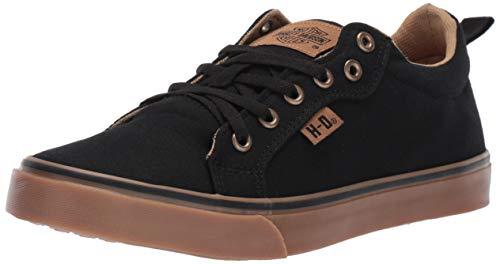 HARLEY-DAVIDSON FOOTWEAR Women's Torland Sneaker, Black, 07.5 M US