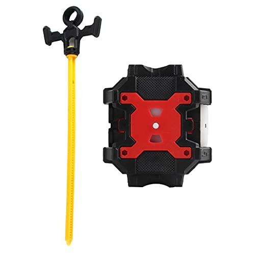 yotijay Ripcord Double Launcher Negro para Burst Top Character Toy ACCS