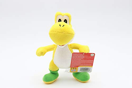 Jakks Pacific 41018, Nintendo Yoshi Plüsch, stehend, gelb, 20 cm