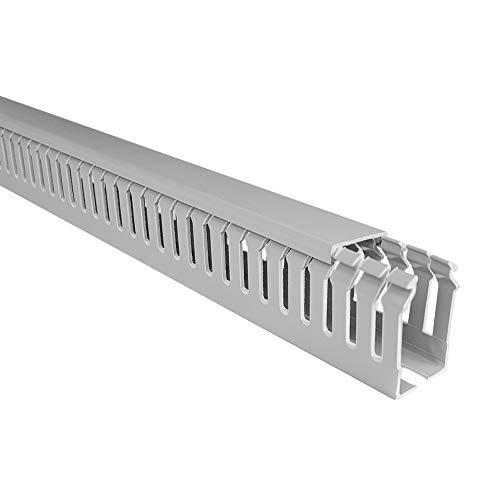 elettrocanali Schlitz Schlitz Kabelkanal–Kabelkanal mit Deckel S 4/6/425x 40mm