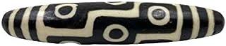 Grande pietra Dzi con 9 occhi (11 cm) perla cielo in agata – Tibet Asien Lifestyle