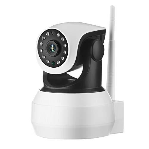LHNEREGLHNEREG Cámara De Tarjeta SIM De Audio Bidireccional con Batería Incorporada 4G, Monitor De IP De Video De Vigilancia HD 1080P De Seguridad para El Hogar Inalámbrico, Blanco,64g,WiFi