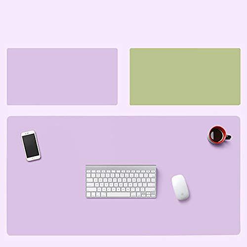 Alfombrilla de escritorio,Alfombrilla de oficina,Alfombrilla de ratón Protector Papel secante de cuero de PU,Alfombra de escritorio para computadora portátil,Antideslizante Impermeable,Doble cara