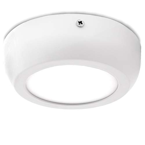 Greenice | Plafón LED Circular Superficie Style 120Mm 6W 470Lm 30.000H |...