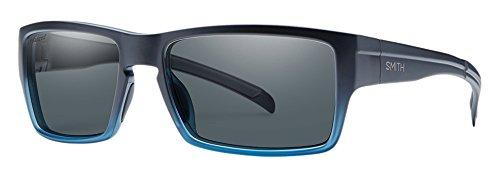 SMITH Outlier/N EE WKB 56 Gafas de Sol, Hombre, Azul (Shdblck Bluette/Grey Pz)