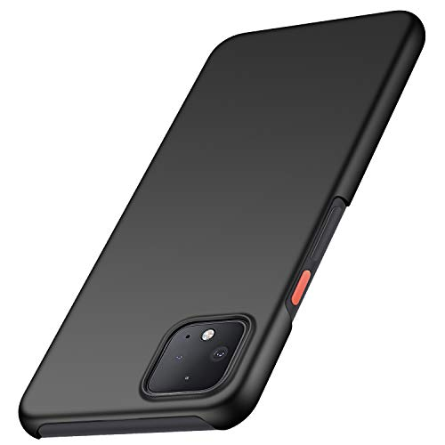 Anccer Colorful Series for Google Pixel 4XL Case, Google Pixel 4 XL Case Ultra-Thin Fit Premium PC Material Slim Cover for Pixel 4 XL (Black)