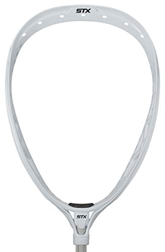 STX Lacrosse Eclipse 2 Strung Goalie Head, White