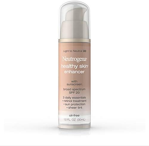 Neutrogena Healthy Skin Enhancer Sheer Face Tint with Retinol Broad Spectrum SPF 20 Sunscreen product image