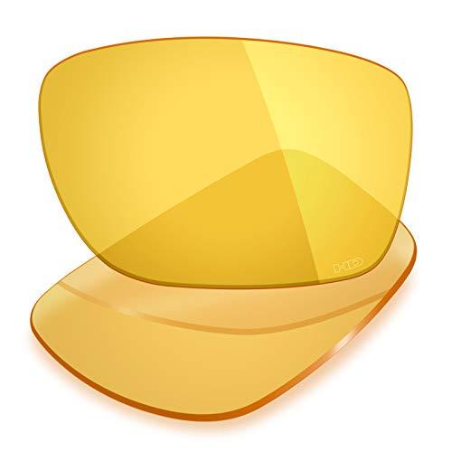 Mryok Ersatzgläser für Oakley Turbine - Optionen - Gelb - Einheitsgröße