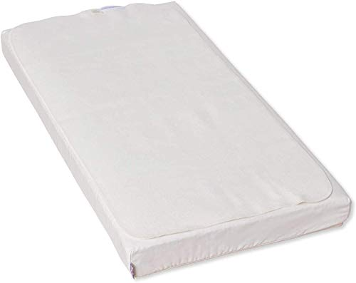Naturalmat Organic Waterproof Mattress Protector to fit Chicco Next2me & Tutti Bambini CoZee Bedside Cribs (50x83cm)