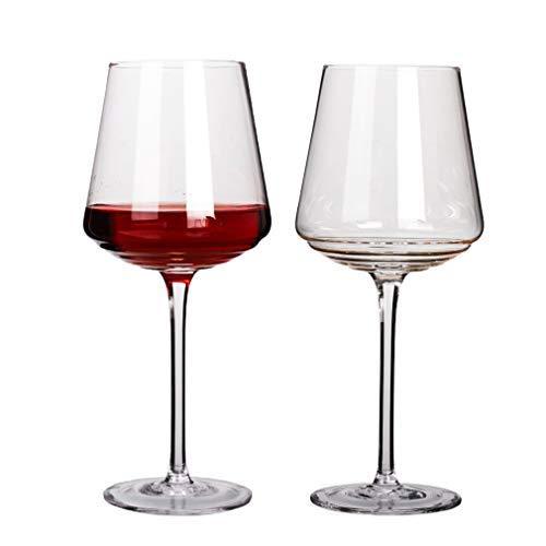 Copas de vino Vino Vaso Vino Tinto Gafas, cristal de vidrio claro,...