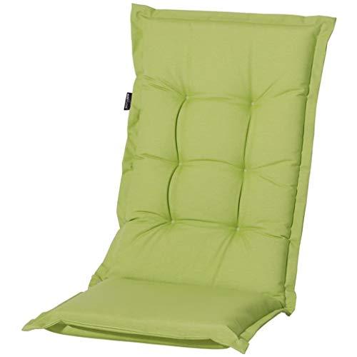 Coussin pour chaise à dossier haut Outdoor Panama Lime, env. 123 x 50 cm