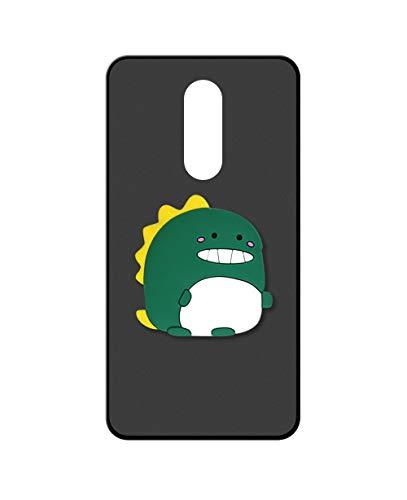Sunrive Kompatibel mit Leagoo S8 Pro Hülle Silikon, Ständer Fingerhalter Fingerhalterung Handyhülle matt Schutzhülle Etui Hülle (Dinosaurier) MEHRWEG