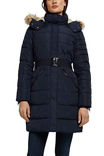 ESPRIT Damen 090EE1G305 Jacke, 400/NAVY, L