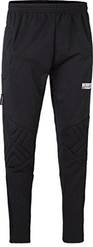 Derbystar Kai–Pantalones de Portero para niños Pro II, Todo el año, Infantil, Color Negro - Negro, tamaño 15 años (164 cm)