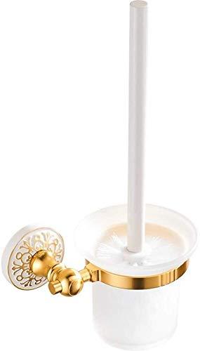 Cepillo de baño Cepillos de inodoro y titulares Tapa de inodoro Taza de inodoro Brillante Espacio de taza de inodoro de aluminio Conjunto de taza de inodoro Cepillo de inodoro Titular del cepillo Cepi