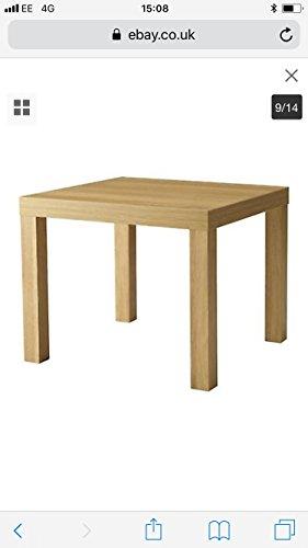 IKEA Lack Beistelltisch Birkenachbildung (55x55cm)