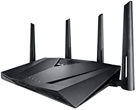 ASUS Route AC3100 Dual-Band Wi-Fi Router with double gaming boost, AiMesh for mesh wifi system and MU-MIMO (Renewed)