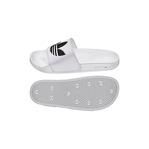 adidas Adilette Lite, Scarpe da Ginnastica Uomo, Ftwr White/Core Black/Ftwr White, 37 EU