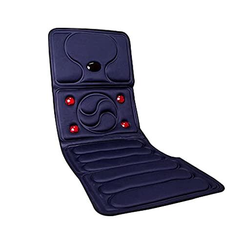 Rrooty Multifunktionale elektrische Massage-Kissen for Körper-Ansatz, Taille, Schulter und Rücken, Startseite Autoreise Matratze Kissen (Color : A)