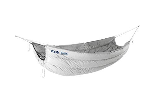 ENO, Eagles Nest Outfitters Blaze UnderQuilt Hammock Insulation for Winter, Glacier