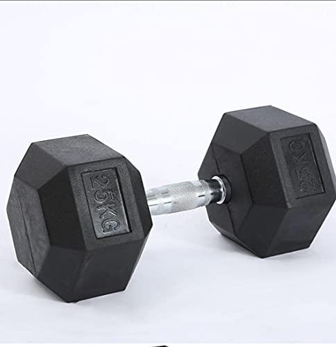 Generico Coppia Pesi Manubri Esagonali per Palestra Casa Body Building Weight Dumbbells Disponibili da 2.5kg -10kg(Venduti in Coppia) (2.5kg×2) *5kg in Totale*