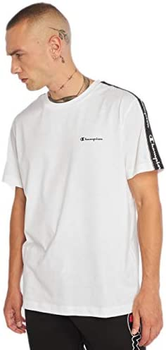 Camiseta Champion Legacy American Tape Blanco para Hombre