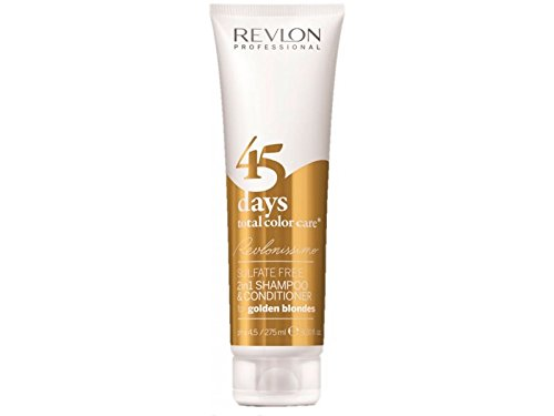 Revlon Professional Revlonissimo 45 Days Golden Blondes 2-in-1 shampoo & conditioner, per stuk verpakt (1 x 275 ml)