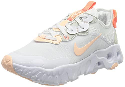 Nike Wmns React ART3MIS, Scarpe da Corsa Donna, White/Crimson Tint-BRT Mango-Pearl White, 38.5 EU