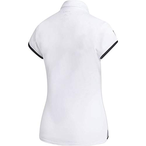 adidas Club 3 Str Polo de Tenis, Mujer, Blanco, 2XS