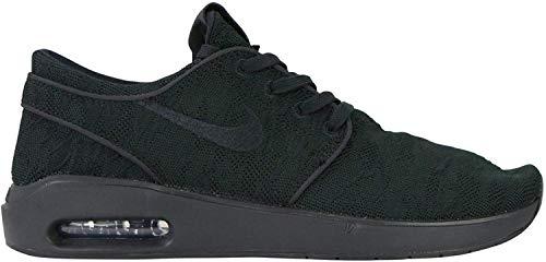 Nike Herren SB Air Max Stefan Janoski 2 Sneaker Schwarz 44,5