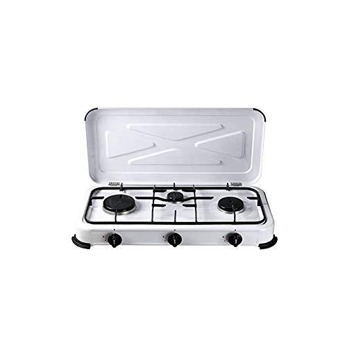 REPORSHOP - Bcalpe Bg03Bsm Cuisine 3 feux gaz blanc cm 334X605X10