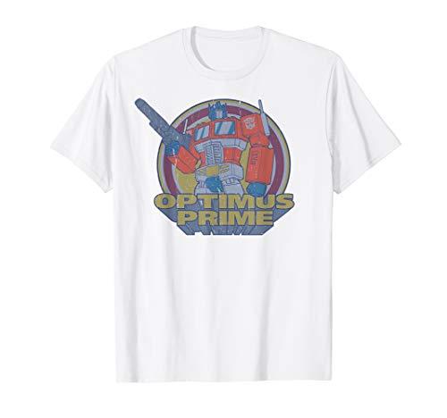 Transformers Optimus Prime Retro Portrait T-Shirt