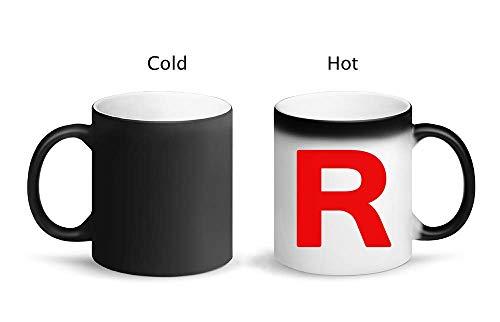 IDcommerce Team R Letter Symbol Rocket Jesse And James Tazza Magica di Design con Tazza in Ceramica 325ml